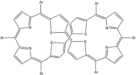 A 34-Octaphyrin. Click to see molecule