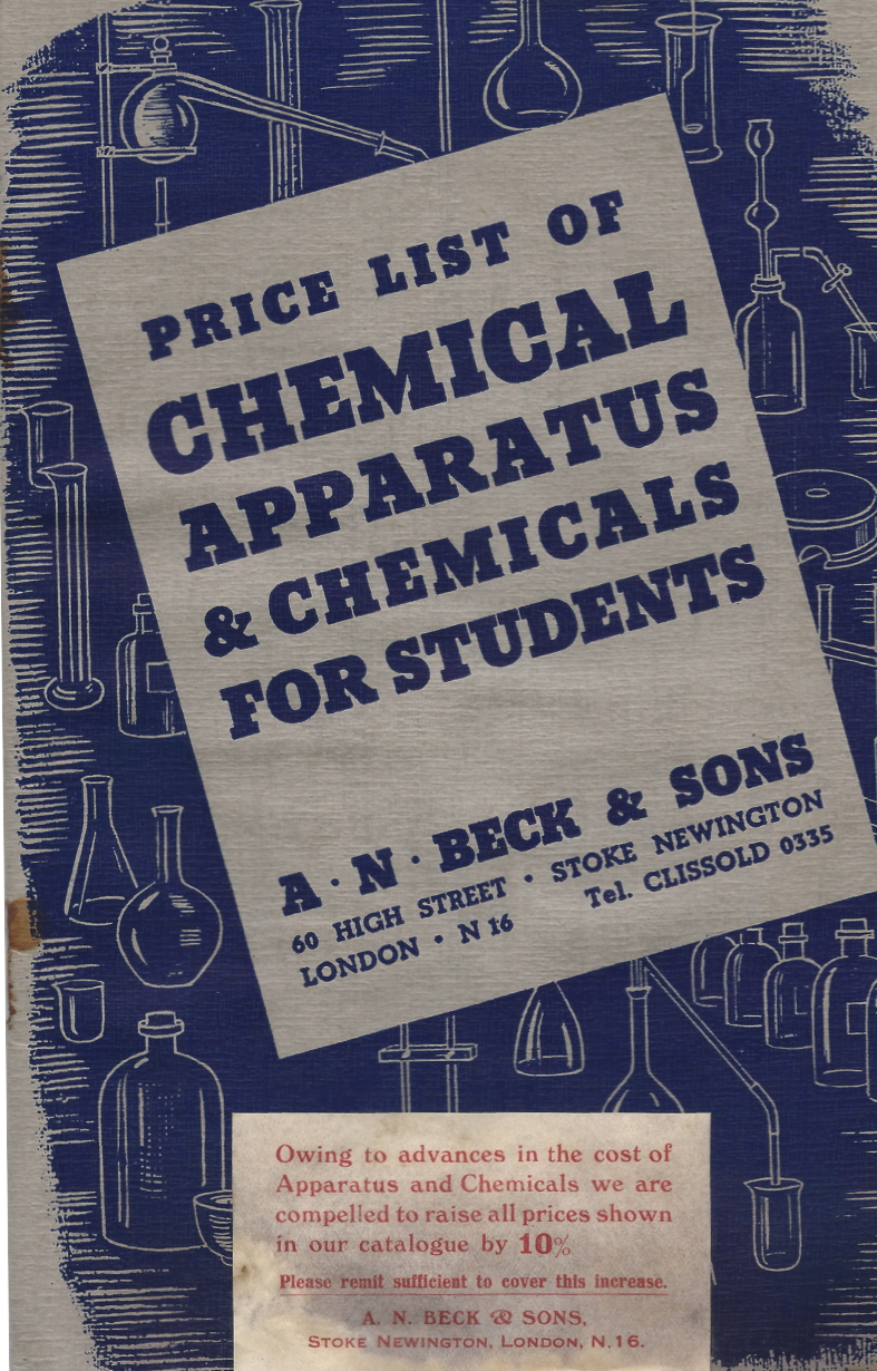 Chemistry in the early 1960s: a reminiscence  | Henry