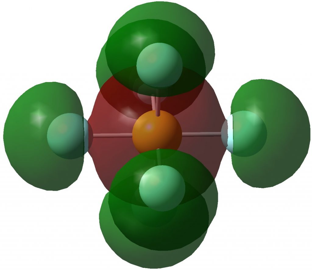 Hypervalence And Octet Expansion In Sulfur Hexafluoride Henry Rzepa S Blog